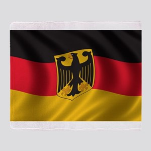 Flag of Germany Throw Blanket